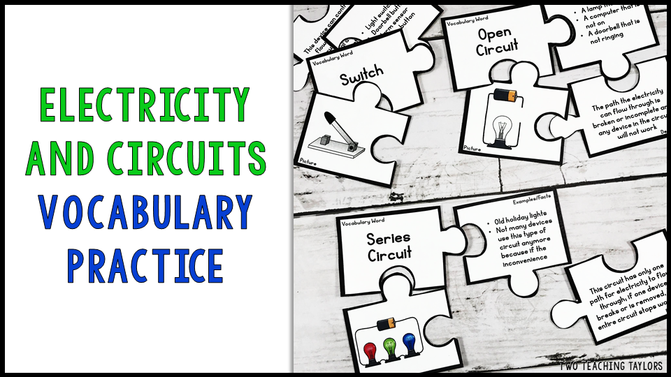 Students can practice content vocabulary independently or in small groups. Each puzzle includes a vocabulary term, illustration, definition, and examples or fact. You can also use the blank cards as a graphic organizer for student notes or creating anchor charts. Asses student understanding using the 10 question quiz.