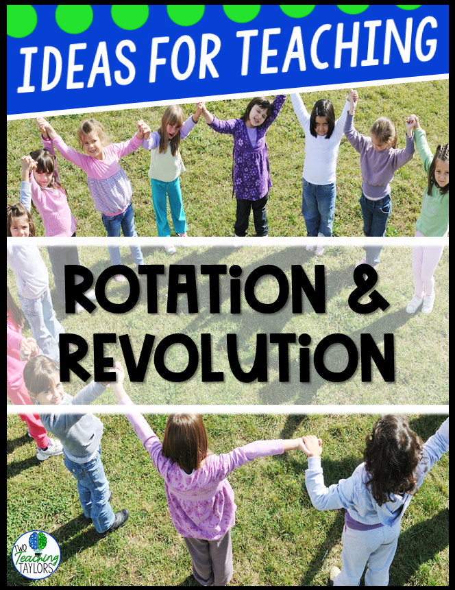 Ideas for Teaching Rotation and Revolution