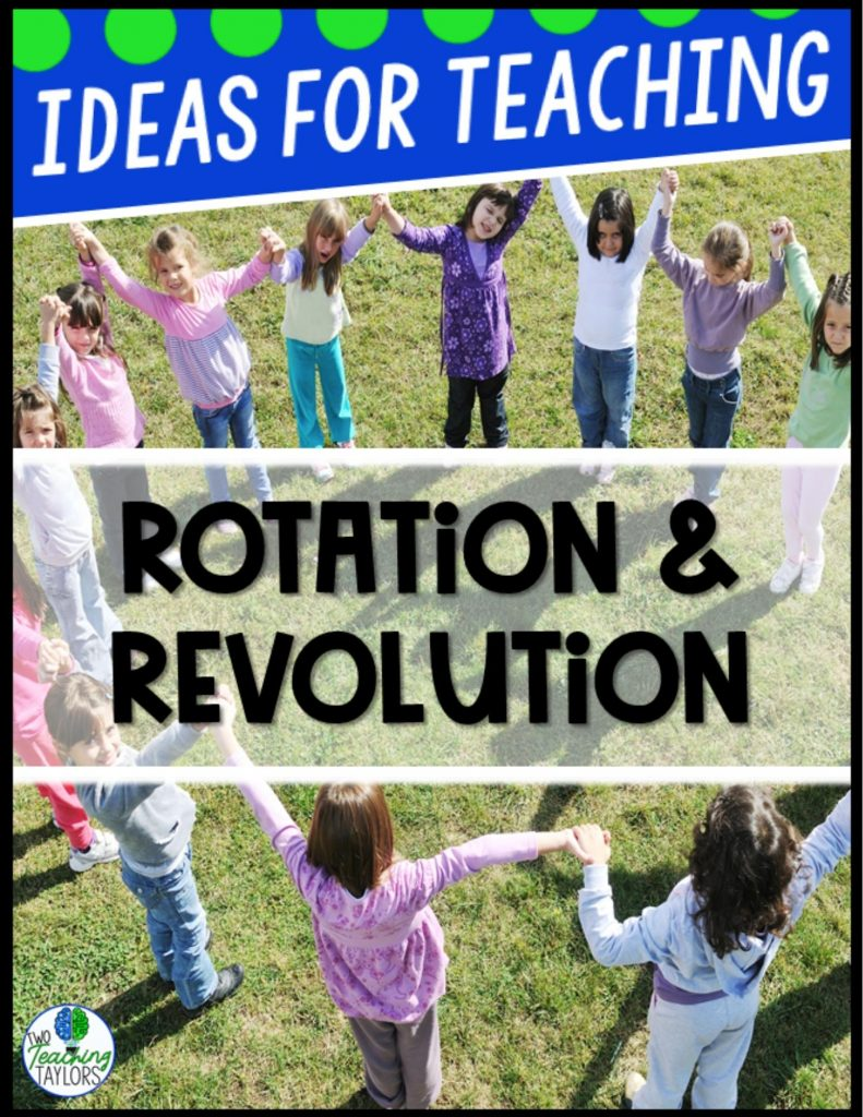 ideas for teaching rotation and rev