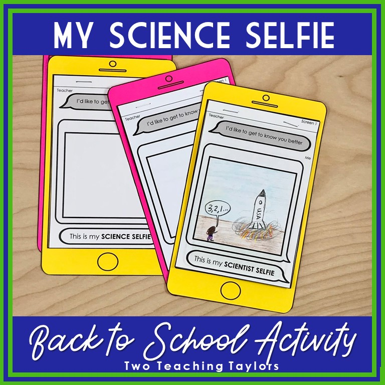 cover image for My Science Selfie
