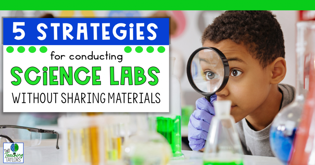 title image for Science Labs without Sharing Materials