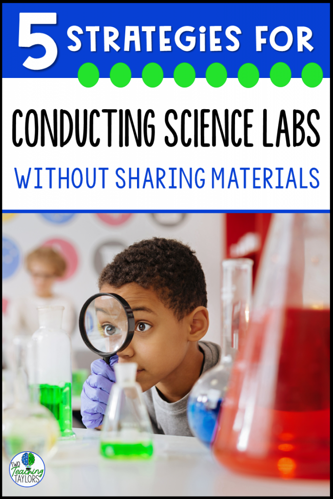 Strategies for Science Labs without sharing materials