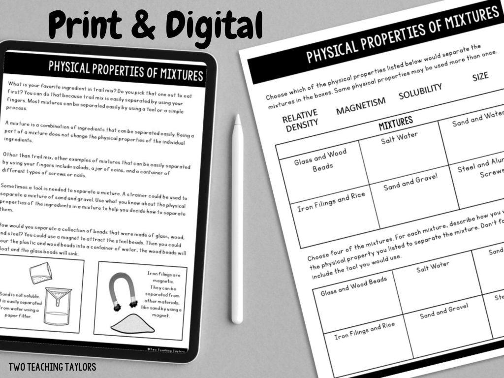 Digital Science resource examples