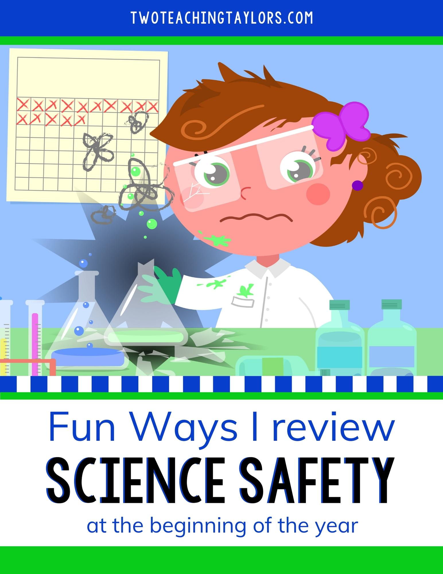 Featured photo for Fun Ways I review Science Safety