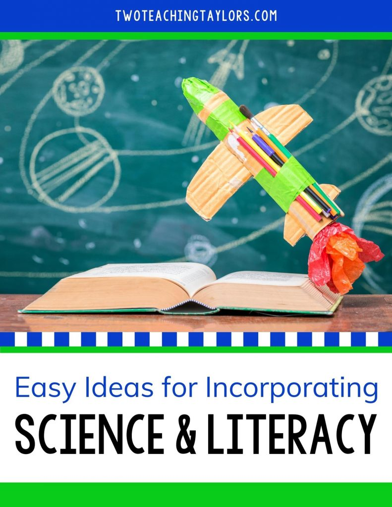 How to Integrate science and literacy blog image