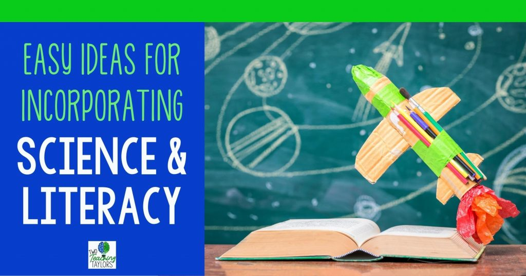 Incorporating Science and Literacy Blog Header
